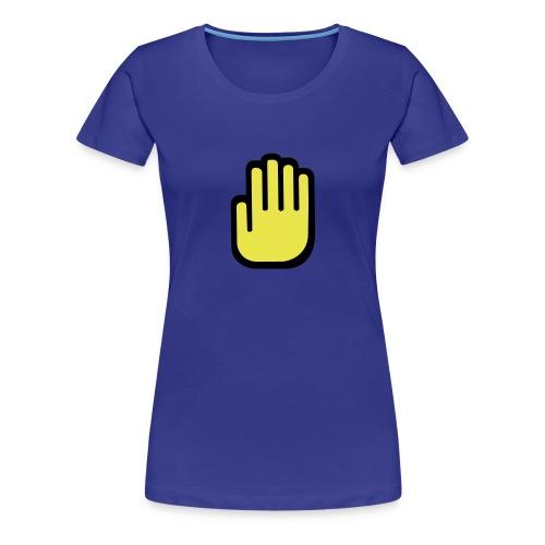 Ladies Flat Hands - Women's Premium T-Shirt