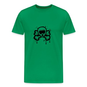 Wheel Dog Cross Bones t-shirt - Men's Premium T-Shirt