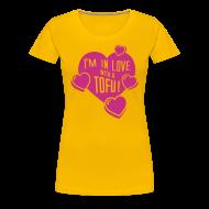 T-Shirts ~ Frauen Premium T-Shirt ~ Womens - I'm in Love with a TOFU!
