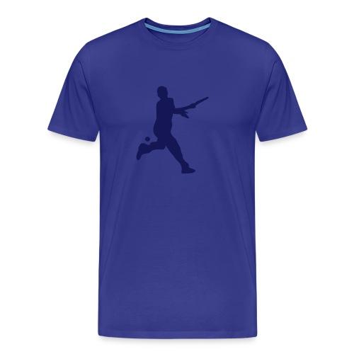 Tennis Silouhette T-shirt (floc1c) - T-shirt Premium Homme