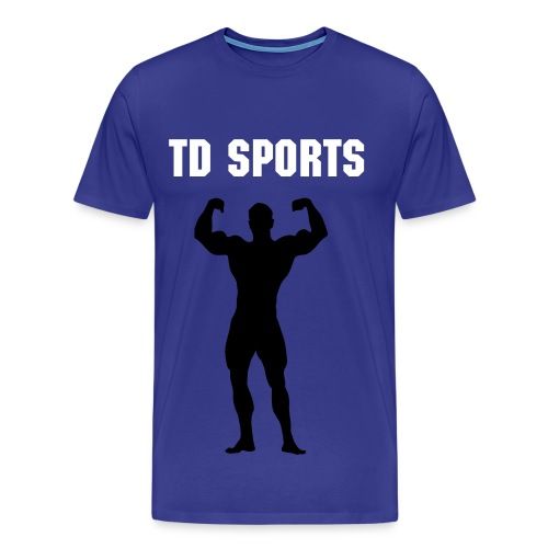 TD SPORTS PROMOTIONAL GYMNASIUM TOP - Men's Premium T-Shirt