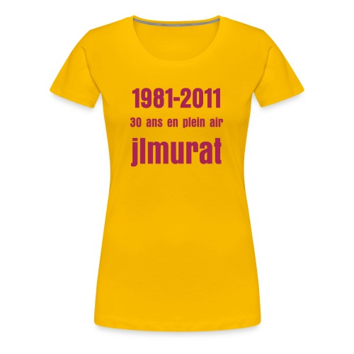 Tunique le temps Murat 1 - T-shirt Premium Femme