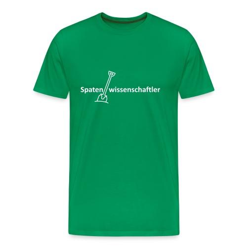 T-Shirt Spatenwissenschaftler - Männer Premium T-Shirt