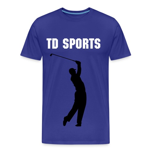 TD SPORTS PROMOTIONAL GOLF TOP - Men's Premium T-Shirt