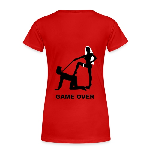 Game Over 1 - Frauen Premium T-Shirt