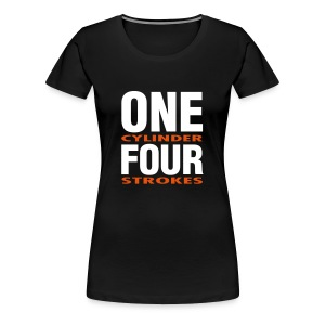 Girlie ONE/FOUR - Frauen Premium T-Shirt