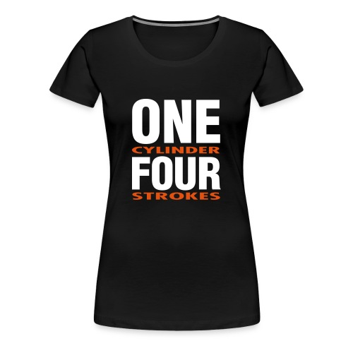 Girlie ONE/FOUR - Frauen Premium T-Shirt