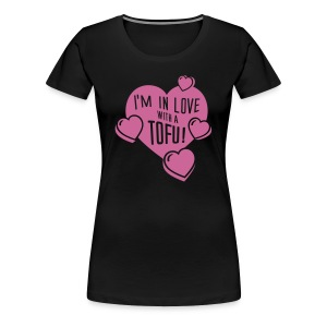 Womens - I'm in Love with a TOFU! ChampagnerSparkle - Frauen Premium T-Shirt