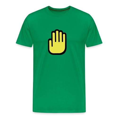Mens Flat Hands - Men's Premium T-Shirt