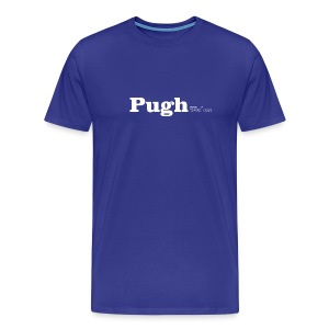 Pugh Wales white text - Men's Premium T-Shirt