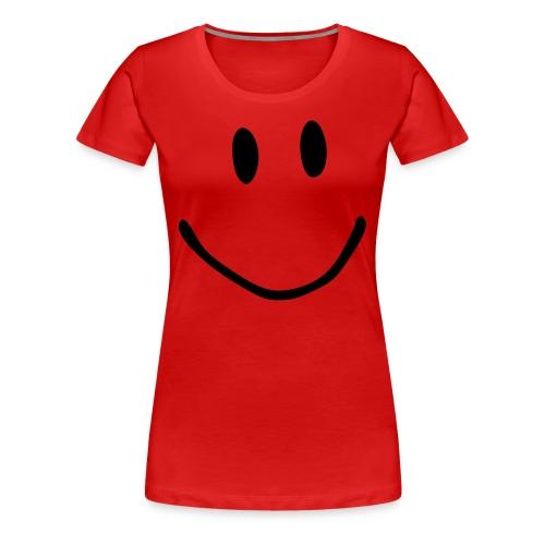 Smile red tee - Women's Premium T-Shirt