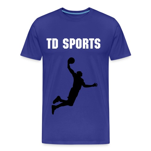 TD SPORTS PROMOTIONAL BASKETBALL TOP - Men's Premium T-Shirt