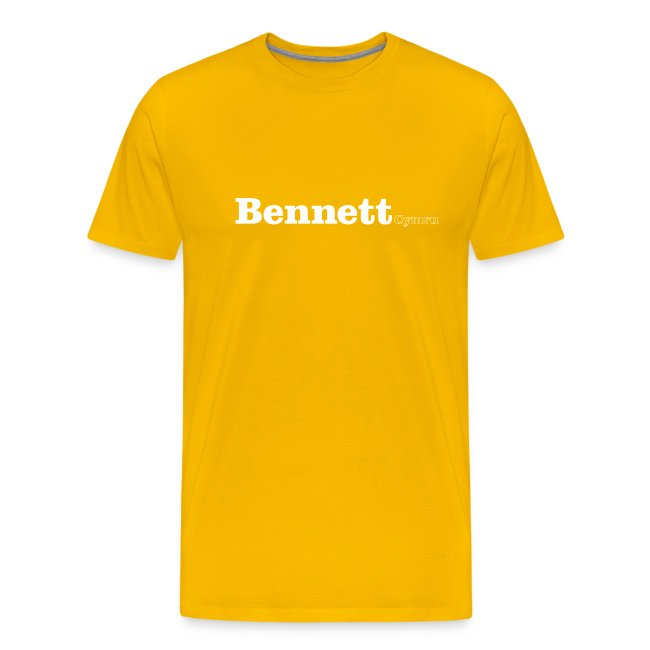 Bennett Cymru white text