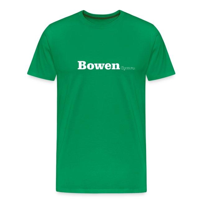 Bowen Cymru white text
