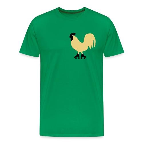 Galloroller Tee - Camiseta premium hombre