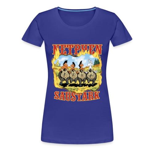 Netphen - Saustark - Frauen Premium T-Shirt