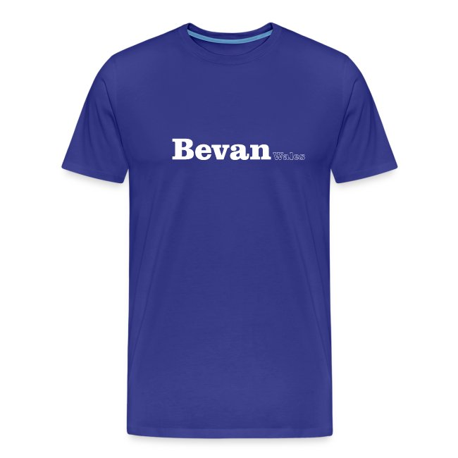 Bevan Wales white text