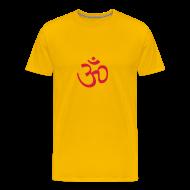 T-Shirts ~ Men's Premium T-Shirt ~ Wheel Dog Om sign t-shirt