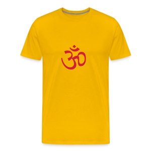 Wheel Dog Om sign t-shirt - Men's Premium T-Shirt
