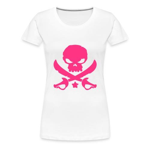 Skull and Swords womens t-shirt - Women's Premium T-Shirt