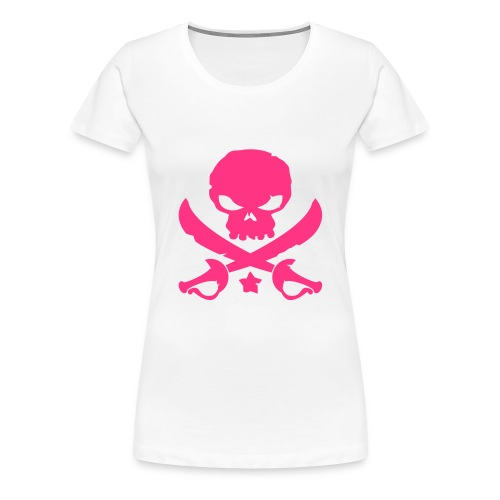 Skull and Swords womens t-shirt - Women's Premium T-Shirt