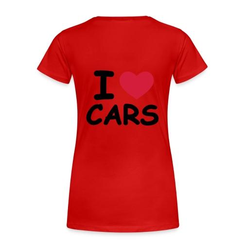 I love my cars dax - T-shirt Premium Femme