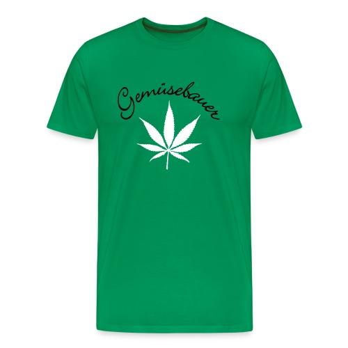 Gemüsebauer - Männer Premium T-Shirt