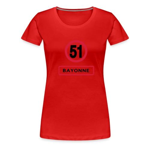 I love my cars bayonne - T-shirt Premium Femme