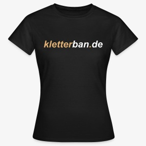 kletterban.de Fan-Collection (women) - Frauen T-Shirt