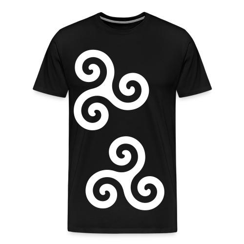 Kingsmileys - Black EDIT - Men's Premium T-Shirt