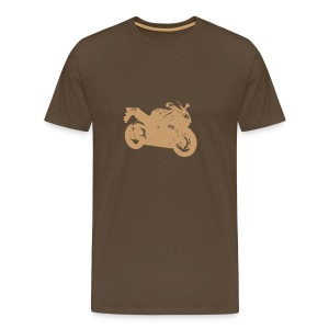 Brown GSX R  - Men's Premium T-Shirt