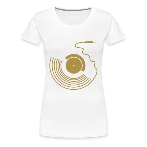 ORO GLITTER - Maglietta Premium da donna