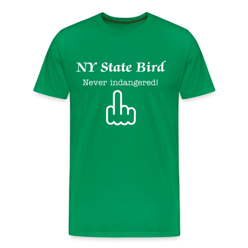 New York State Bird Tee  - Men's Premium T-Shirt