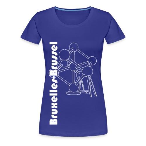 BRUSSEL-BRUXELLES - Women's Premium T-Shirt