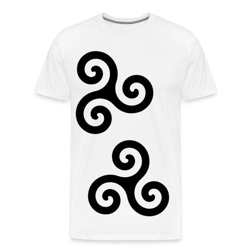 Kingsmileys - White EDIT - Men's Premium T-Shirt
