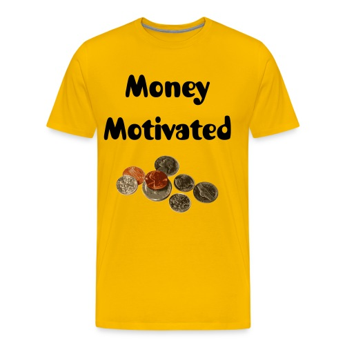 Money Motivated - Men's Premium T-Shirt