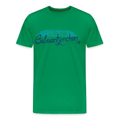 Gelsenkirchen Arena - Männer Premium T-Shirt
