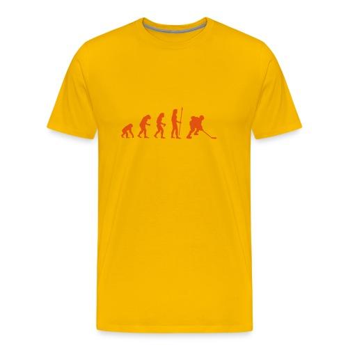 Evolution Eishockey - Männer Premium T-Shirt