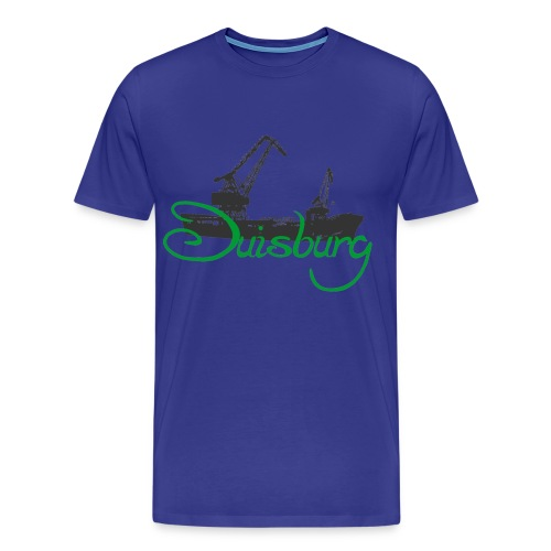 Duisburg Hafen - Männer Premium T-Shirt