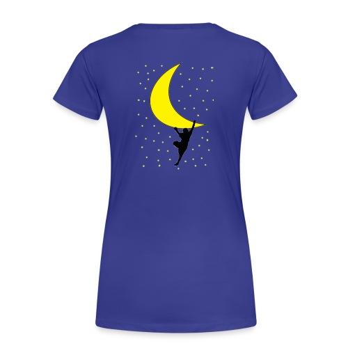 moonclimbtrasparence wm - Maglietta Premium da donna