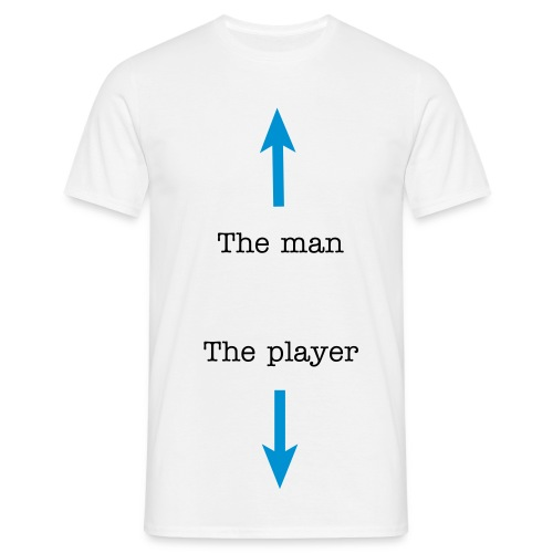Tha man and the player - Mannen T-shirt