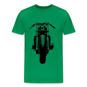 Motorcycle Big Front - Men's Premium T-Shirt