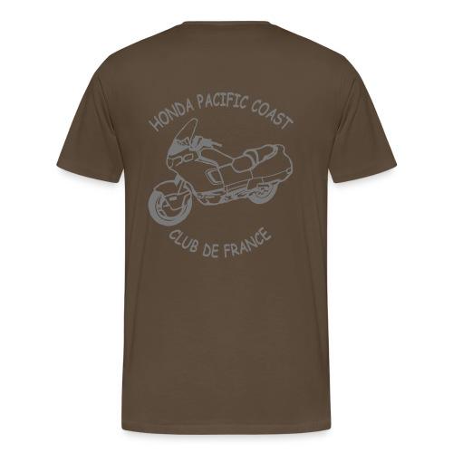 T-SHIRT HOMME CLUB - T-shirt Premium Homme