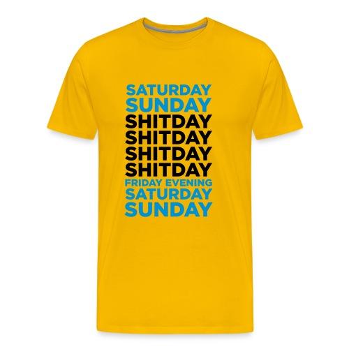 week - Camiseta premium hombre