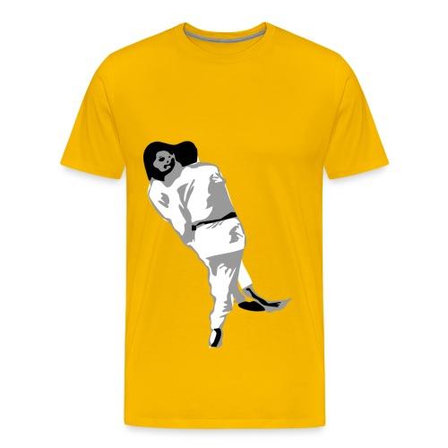 T-Shirt mit De-Ashi-Barai Fußwurf - Männer Premium T-Shirt