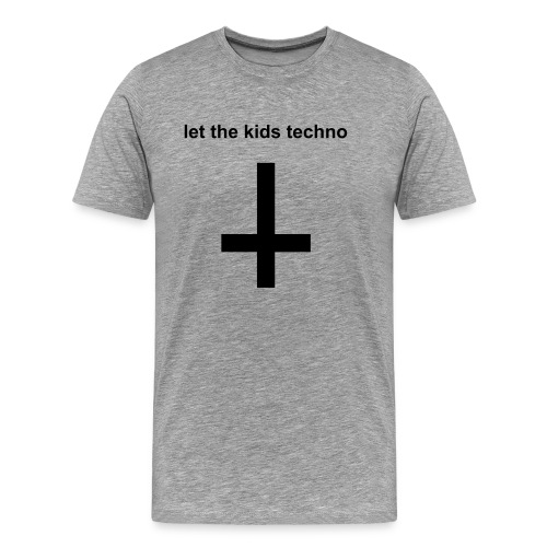 Let the kids techno! Festival t-shirt - Mannen Premium T-shirt