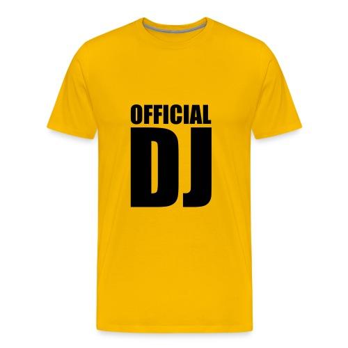 official dj - Camiseta premium hombre