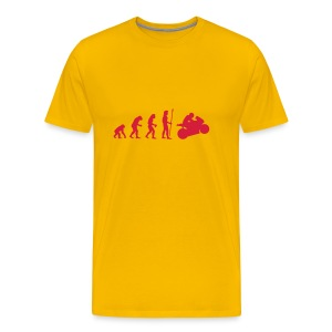 Evolution Motorsport - Männer Premium T-Shirt