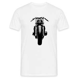 Motorcycle Front - Men's T-Shirt