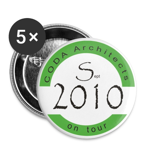 2010 tour - Buttons small 25 mm